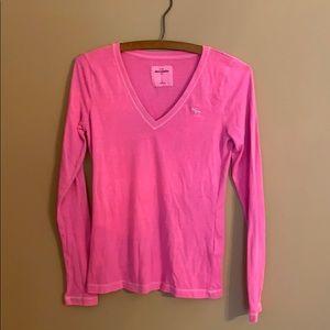 Abercrombie & Fitch Long Sleeve T Shirt - Girls XL